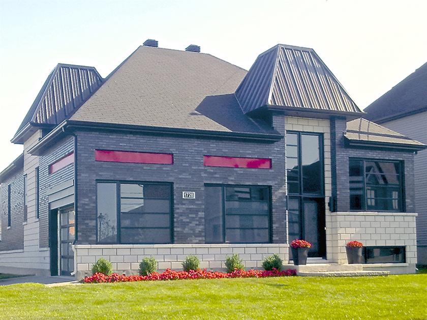 Maison 1 étage #2 – Habitat-concept – Architecture domiciliaire ...
