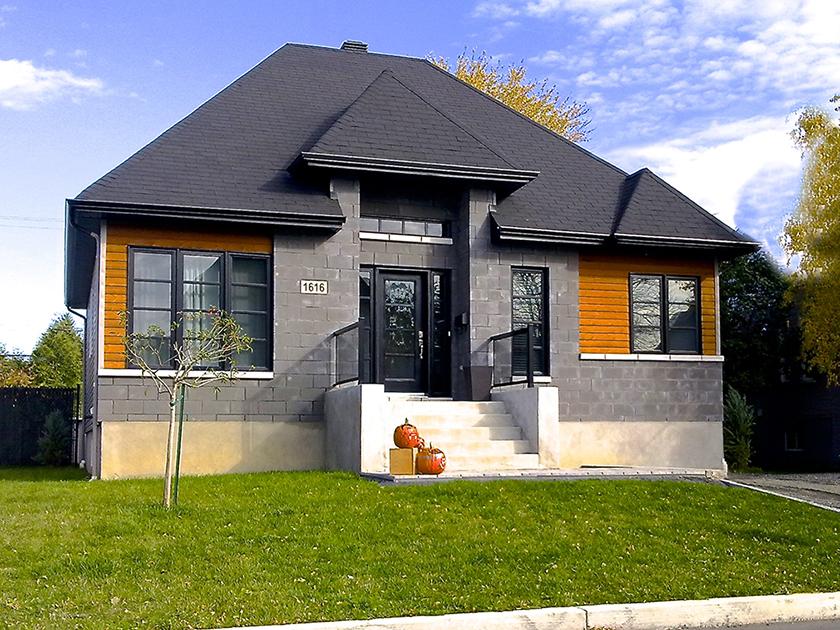 Maison 1 étage #5 – Habitat-concept – Architecture domiciliaire ...
